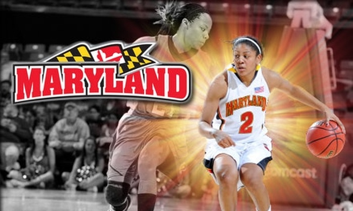 University of Maryland Athletics - Washington DC: $6 for a Ticket to University of Maryland Basketball. Click Here for the Women's Game Vs. Duke on 1/24/10 at 8 p.m. ($10 Value). See Below for Men's Basketball.