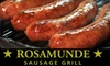 $8 for Meats at Rosamunde Sausage Grill