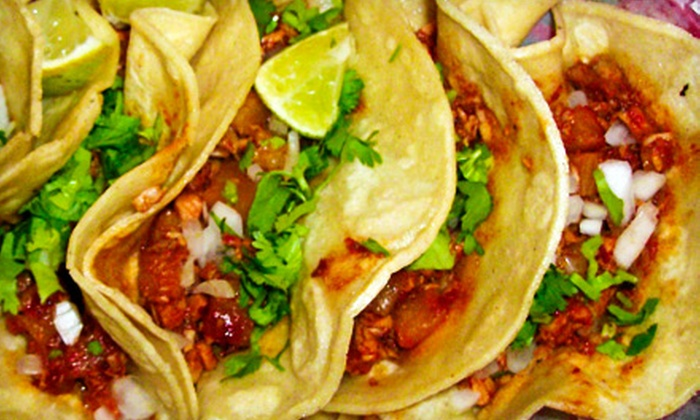 True Taco - East London: $10 for Chips and Tacos for Two at True Taco