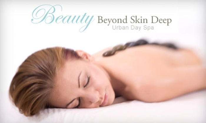 Beauty Beyond Skin Deep - Downtown Oshawa: $50 For a Warm Stone Massage at Beauty Beyond Skin Deep (a $107.35 value)