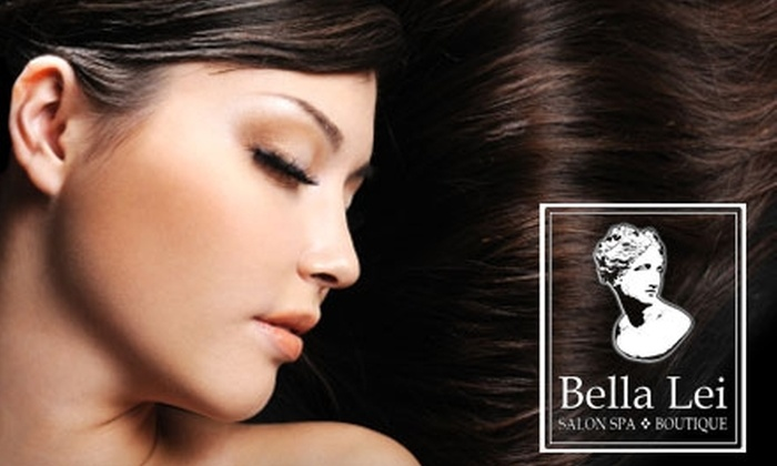 Bella Lei Salon Spa & Boutique - Multiple Locations: $48 for an All-Over Hair Color, Cut, Style, and Blow-Dry at Bella Lei Salon Spa & Boutique (Up to $112 Value)