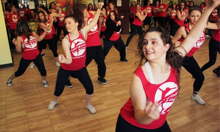 One or Three Months of Unlimited Dance Classes for Adults at Room to Dance & World to Dance (Up to 58% Off)