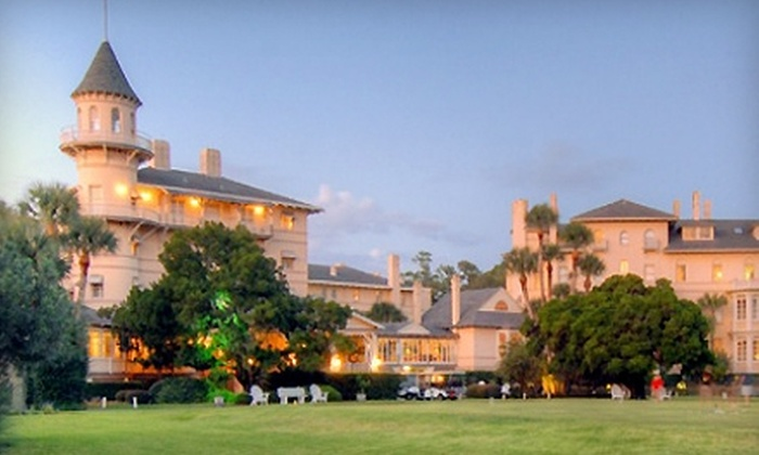 Jekyll Island Club Hotel - Thalmann: $160 for a One-Night Stay, Breakfast, and Bike Rental for Two at Jekyll Island Club Hotel