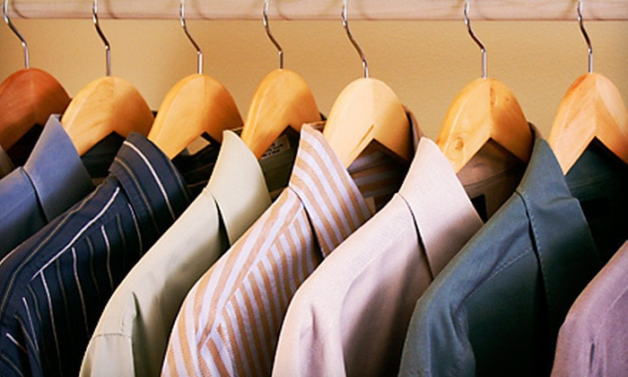 Uptown Cleaners - Multiple Locations: $10 Worth of Dry-Cleaning Services