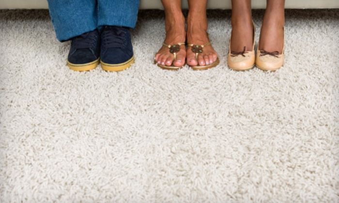 Carpet Action Team - Multiple Locations: $79 for Four-Room Carpet Cleaning from Carpet Action Team (Up to $256 Value)