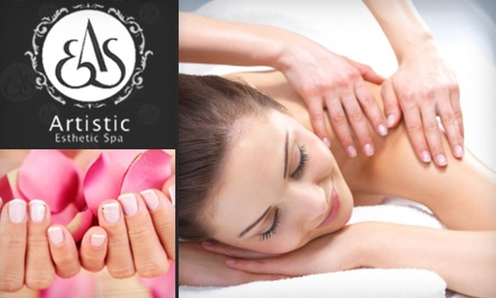 Artistic Esthetic Spa - Central London: $55 for a Two-Visit Spa Package at Artistic Esthetic Spa ($195 Value)