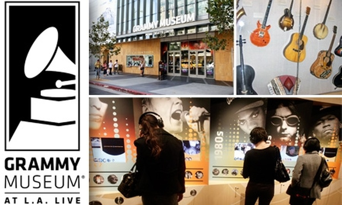 GRAMMY Museum  - Downtown Los Angeles: $50 1-Year Membership for 2 Adults and Up to 4 Children to The Grammy Museum at L.A. Live