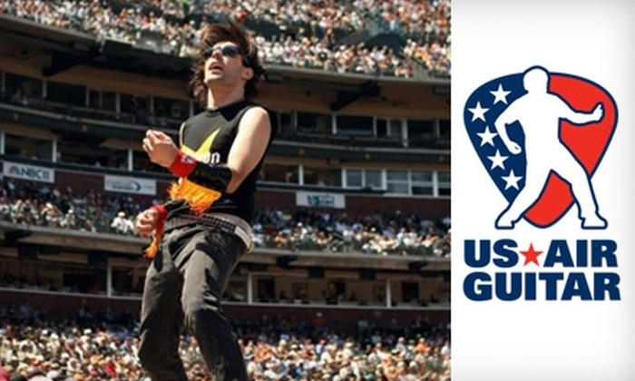 Metro Chicago - Lakeview: $8 Ticket to Chicago Regional US Air Guitar Championships on Thursday, April 15 ($15 Value)
