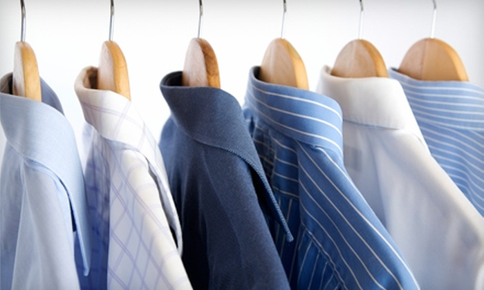 Pressed4Time - Chattanooga: $10 for $25 Worth of Home or Office Pickup and Delivery Dry Cleaning from Pressed4Time