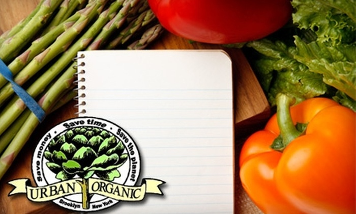 Urban Organic: $20 for One Original Value Produce Box with Shipping Included from Urban Organic ($39.98 Value)