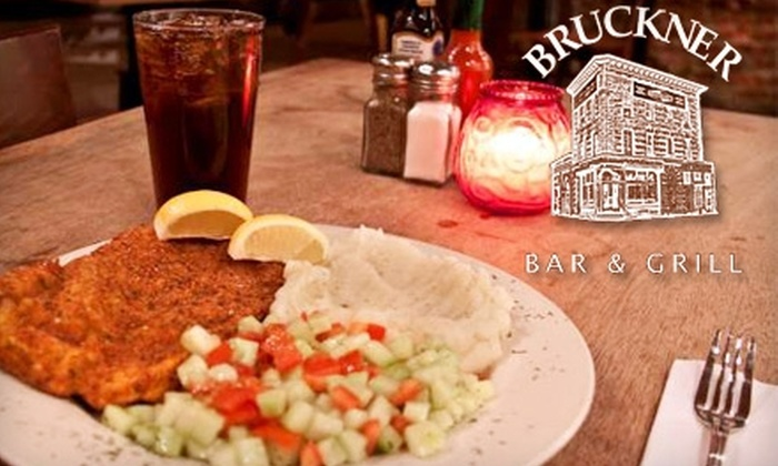 Bruckner Bar & Grill - Port Morris: $10 for $20 Worth of Hearty Fare and Drinks at Bruckner Bar & Grill