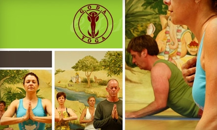 GODA Yoga - Downtown Culver City: $35 for Five Drop-in Yoga Classes at Goda Yoga in Culver City ($70 Value)