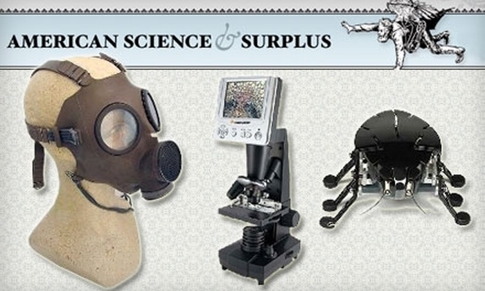 American Science & Surplus - Winfield: $10 for $20 Worth of Hobby Goods, Educational Toys, and More at American Science & Surplus