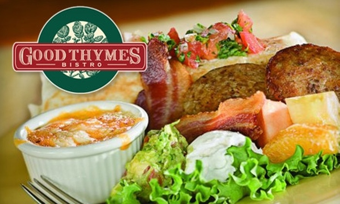 Good Thymes Bistro - Park City: $10 for $20 Worth of Lunch and Dinner at Good Thymes Bistro (or $7 for $15 Worth of Breakfast)