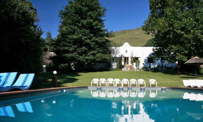Everglades Hotel - Dargle,: Southern Drakensberg: Getaway for Two People Sharing at Everglades Hotel