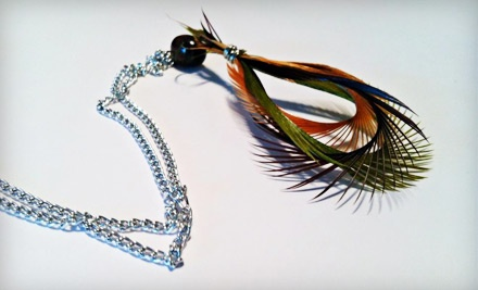 $30 Groupon to Stay Fluffed Feather Designs - Stay Fluffed Feather Designs in