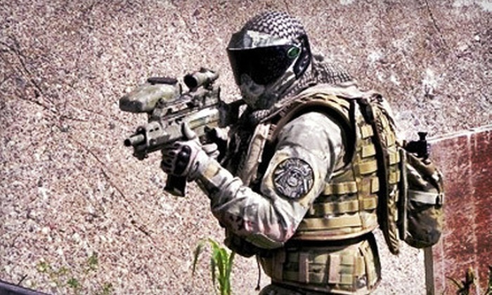 Vintage Paintball Park - River Falls: Paintball Outing for Two, Four, or Eight at Vintage Paintball Park in River Falls (Up to 56% Off)
