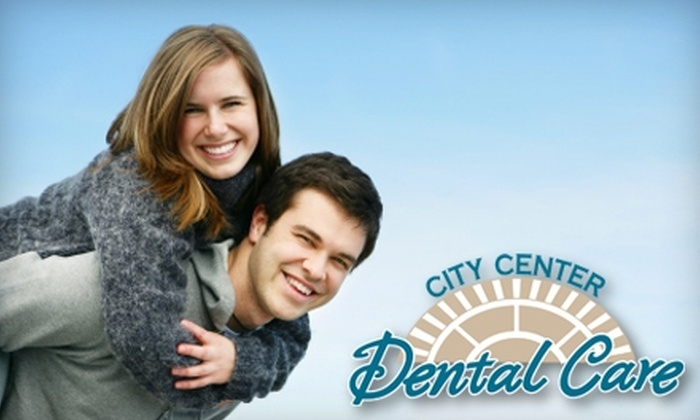 City Center Dental Care - Deer Park: $150 for In-Office Teeth-Whitening Treatment and Custom-Fit Trays at City Center Dental Care in Newport News ($503 Value)