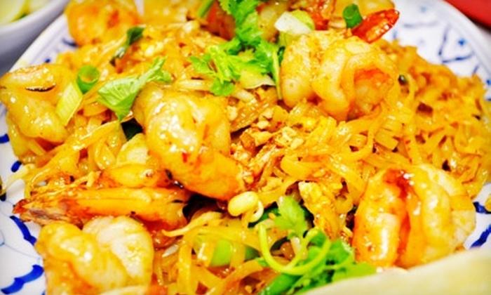 Pad Thai Cafe - Murfreesboro: $9 for $20 Worth of Thai Cuisine at Pad Thai Café in Murfreesboro