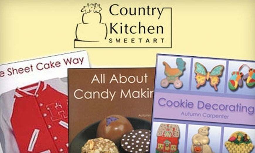 15 For Three Decorating And Recipe Books From Country Kitchen Sweetart Up To 32 85 Value Groupon