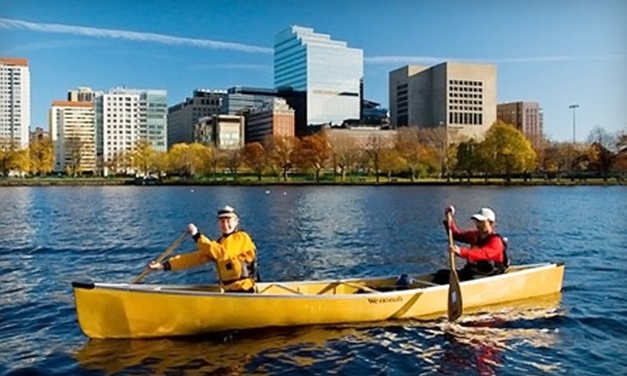 Charles River Canoe & Kayak - Multiple Locations: $99 for Individual Season Rental Pass to Charles River Canoe & Kayak (Up to $275 Value)