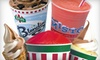 Rita's Italian Ice - Central Campus,The Drag,West University: $9 for Punch Card for Five Large Gelatis at Rita's Italian Ice ($19.95 Value)