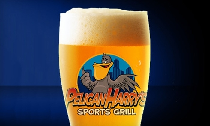 Pelican Harry's Sports Grill - Homer Glen: $15 for $30 Worth of Pub Fare and Pours at Pelican Harry's Sports Grill in Homer Glen