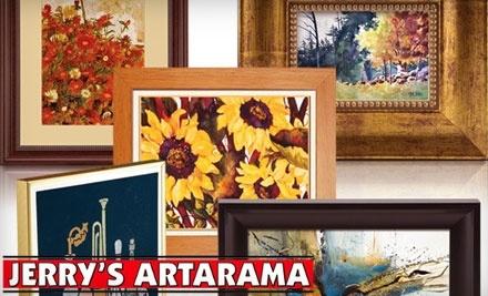 $100 Groupon to Jerry's Artarama - Jerry's Artarama in Raleigh