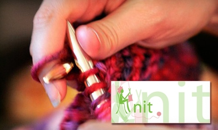 Knit - Harleston Village: $10 for One Beginners' Knitting Class at Knit ($20 Value)