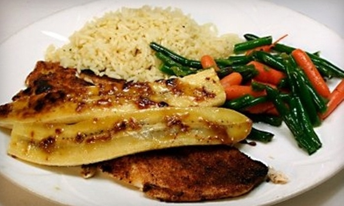 Station 885 - Plymouth: Grill Fare for Dinner or Lunch at Station 885 in Plymouth