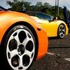 High-Speed Drive in a Ferrari or Lamborghini