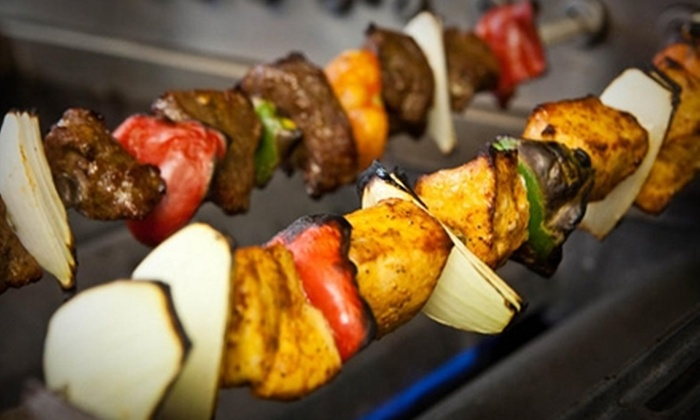Mediterranean City Grill - Downtown Los Angeles: $10 for $20 Worth of Falafel, Shawarma, and Kebabs at Mediterranean City Grill