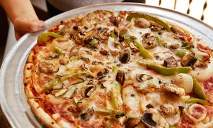 Balistreri Brothers Pizza: Carryout Pizza Meal for Up to Four or Six at Balistreri Brothers Pizza (Up to 40% Off)