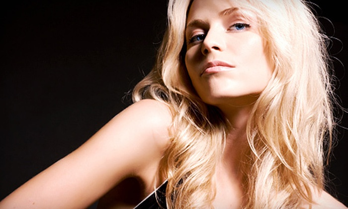 Salon Salon of Bergen County - Multiple Locations: Cut, Style, and Blow-Out with Options for Color or Partial Highlights at Salon Salon of Bergen County (Up to 63% Off)