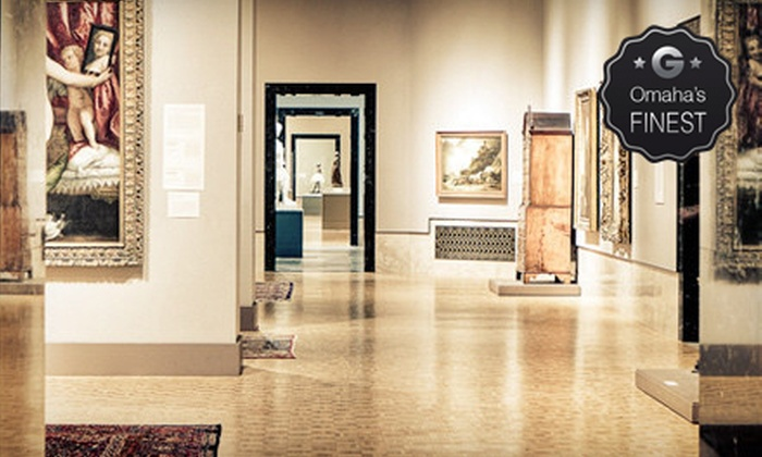 Joslyn Art Museum - Downtown Northeast: $30 for a Family Membership to the Joslyn Art Museum ($60 Value)
