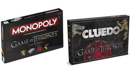 Game of Thrones Cluedo or Monopoly