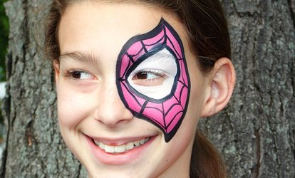 image for Two-Hour Face-Painting Session from Catalina Angelina's, LLC (50% Off)