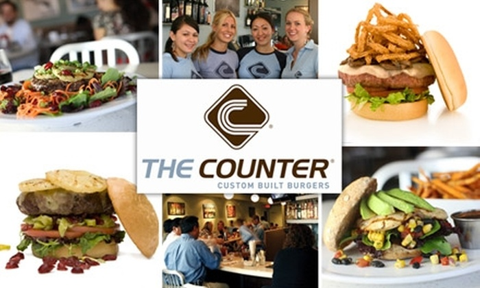 The Counter Seattle - Multiple Locations: $15 for $30 Worth of Custom Burgers at The Counter