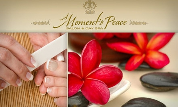 A Moment's Peace  - Franklin: $45 Mani-Pedi or Hot-Stone Massage at A Moment's Peace