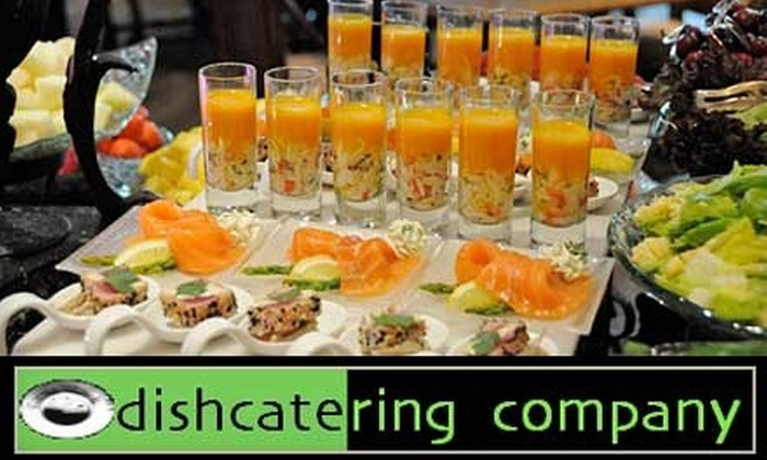 dishcatering company - Virginia Beach: $49 for $99 Worth of Eco-Friendly Catering Services from dishcatering company