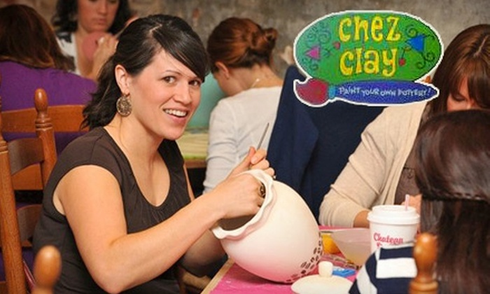 Chez Clay - Lower Garden District: $10 for $20 Worth of Paint-Your-Own Pottery at Chez Clay