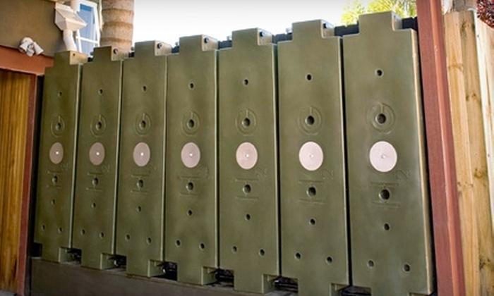 Rainwater Hog - Duboce Triangle: $450 for Three Rainwater Hog Modular Tanks from Rainwater Hog ($900 Value)