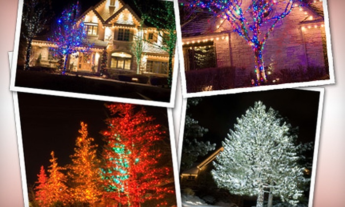 Five Star Holiday Décor - Ashville: Glimmer, Shine, or Radiance Holiday Lighting Package from Five Star Holiday Décor (Up to 51% Off)