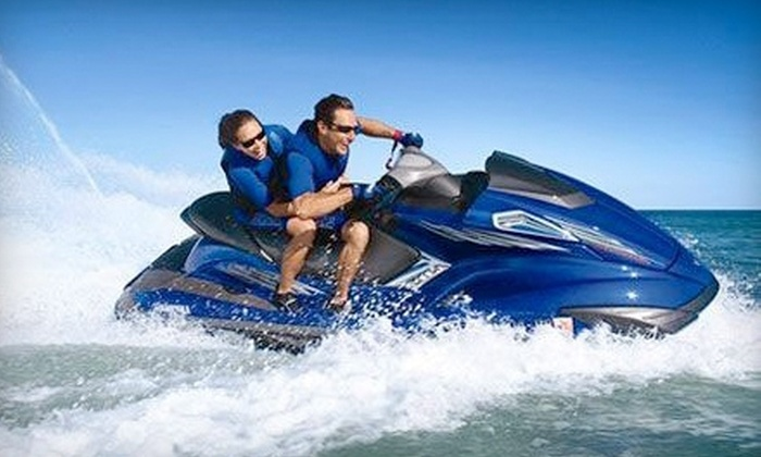 Dennis and Provincetown Parasail and Jet Ski - East Dennis: $69 for a One-Hour Jet Ski Rental from Dennis and Provincetown Parasail and Jet Ski in East Dennis ($115 Value)