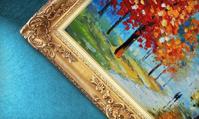 PishPoshPaints: $59 for $130 Worth of Oil Paintings from PishPoshPaints