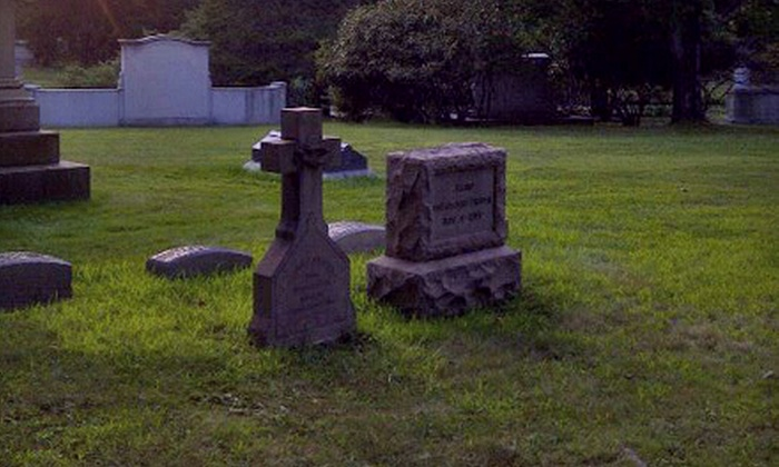 Cedar Hill Cemetery's Haunted History Lantern Tour  - South West: Haunted History Lantern Tour Outing for One. Five Times Available.