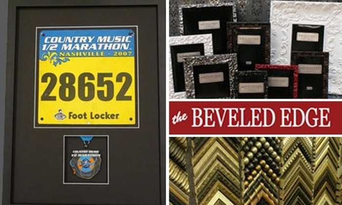 The Beveled Edge - Hillwood: $40 for $100 Worth of Custom Framing and Tabletop Frames at The Beveled Edge