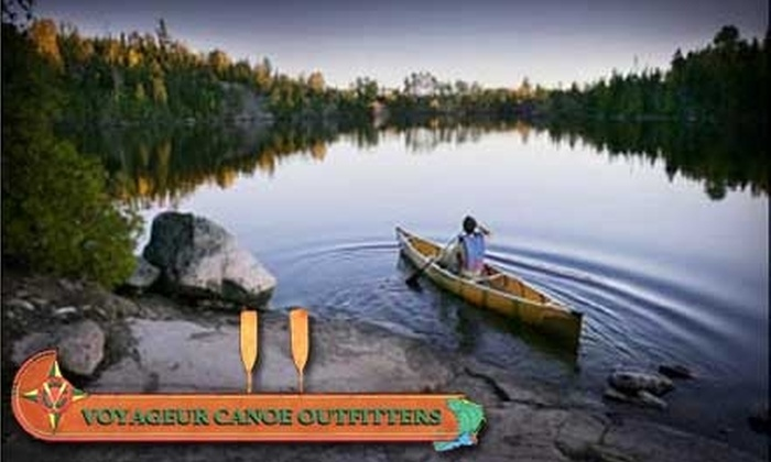 Voyageur Canoe Outfitters - West Cook: $150 for a Fully-Equipped Boundary Waters Canoe Trip from Voyageur Canoe Outfitters (Up to $299 Value)