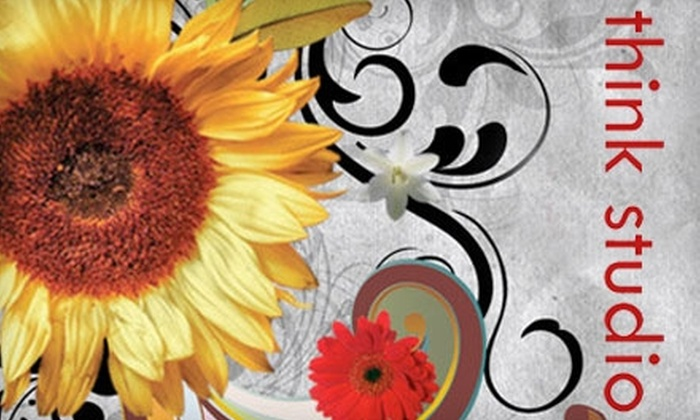 Think Studio: $40 for $85 Worth of Floral Arrangements from Think Studio
