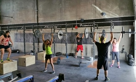 Three Foundation CrossFit Classes or One Month of CrossFit Classes at Crossfit Okanagan (Up to 52% Off)
